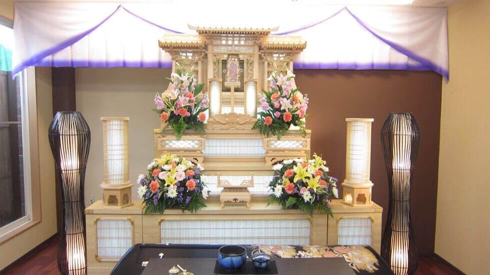 家族葬の花水木
