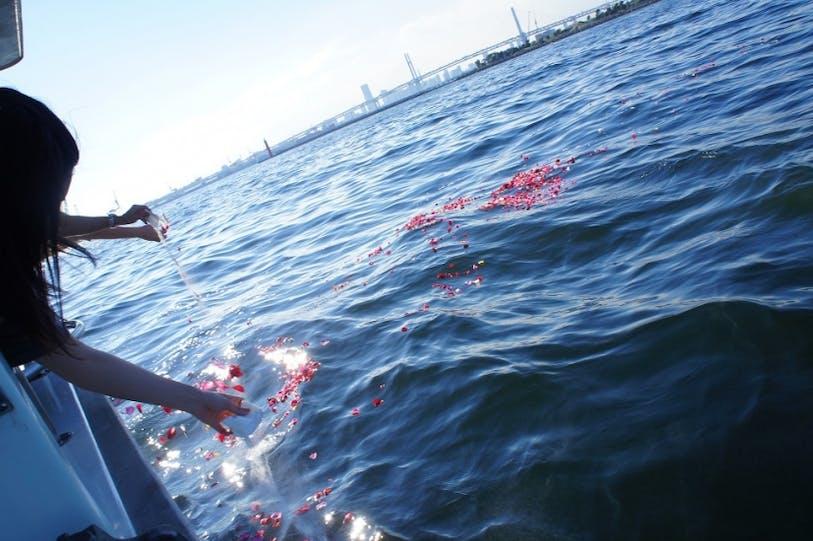 海洋散骨のブルーオーシャンセレモニー