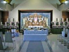 立川市営斎場(立川市)を利用して、白木祭壇でのお葬式・・・参列人数140名