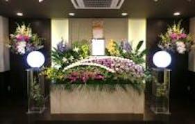 羽曳野市 キレイなお花の家族葬