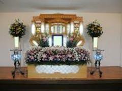 アルマホール限定白木祭壇