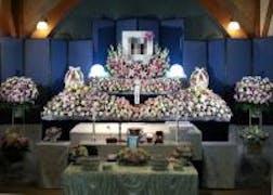 無門庭園でのお花の家族葬