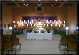 家族葬(300名)の施行例