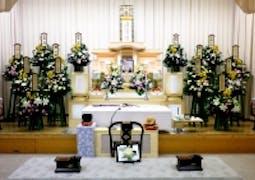 堺市立斎場での一般葬