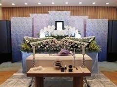 臨海斎場で35名の家族葬