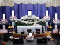 浦安市斎場で花祭壇の家族葬20名