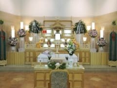 ウイングホールで神葬祭
