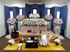 谷塚斎場「菊の間」一日葬