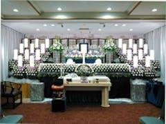谷塚斎場「東館」で行った社葬