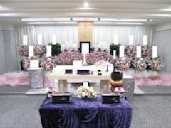 戸田葬祭場4F式場で創価学会友人葬