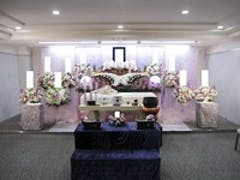 戸田葬祭場の4F式場で行った30名家族葬