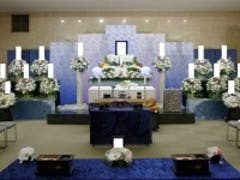 松戸市斎場(1F大式場)で70名のお葬式