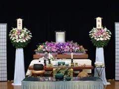 家族葬46(一日葬) 生花祭壇