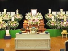 家族葬56(一日葬) 生花祭壇