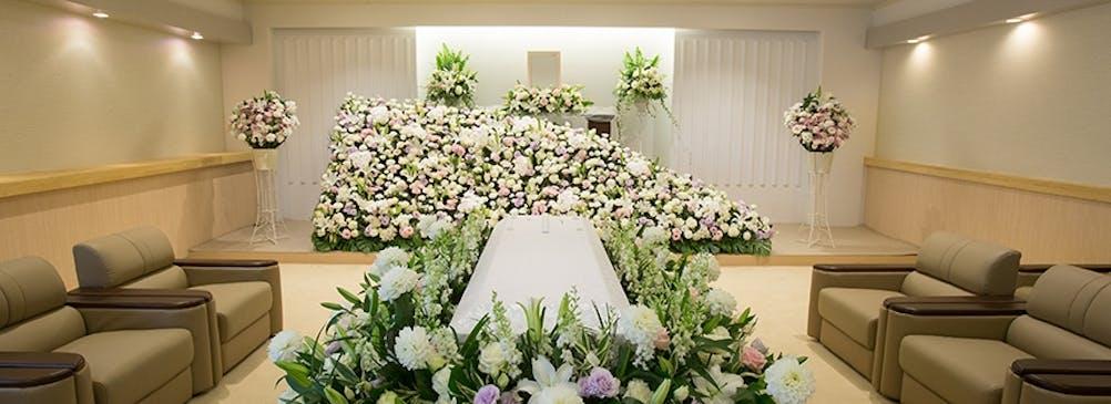たったひとつの生花祭壇