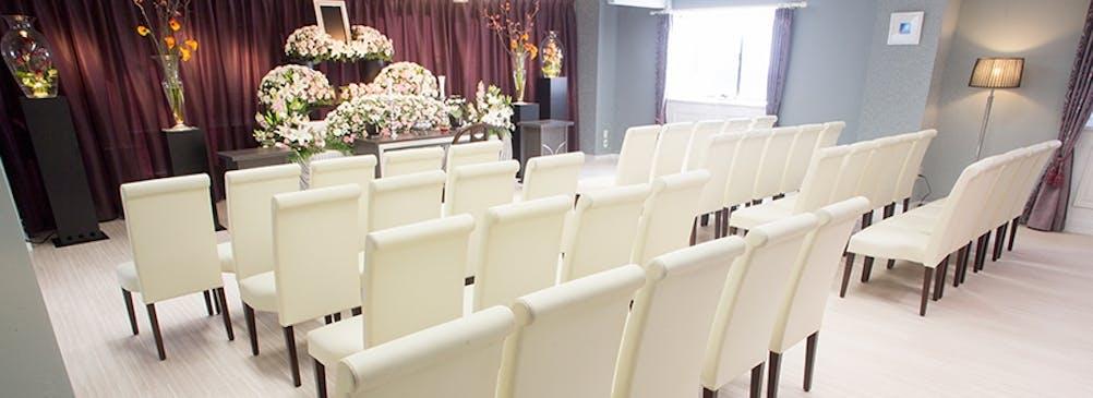 30名着席可能、家族葬に最適なスペースの式場をご用意