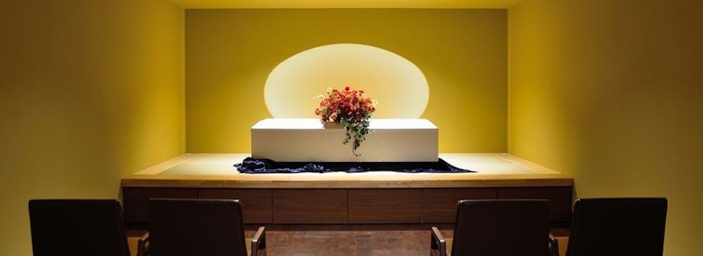 少人数の家族葬に特化したお別れ室「アンジュ」