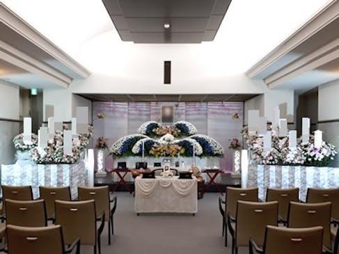 家族葬の祭壇例