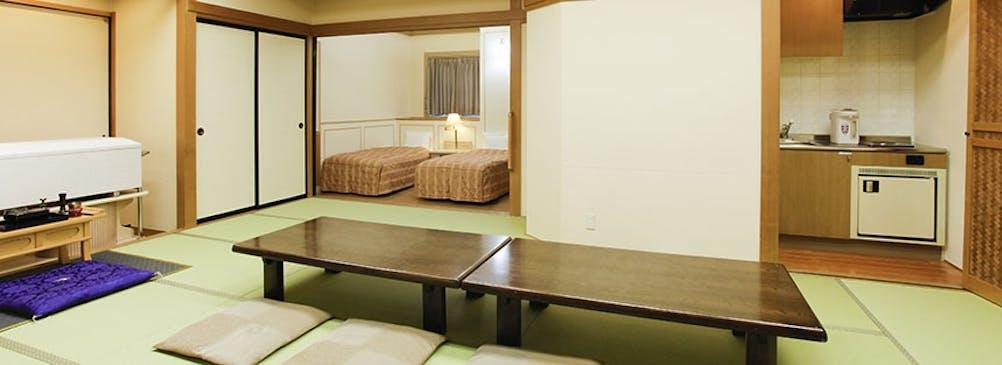 ゆったり過ごせる控室とおもてなしに適した充実した施設
