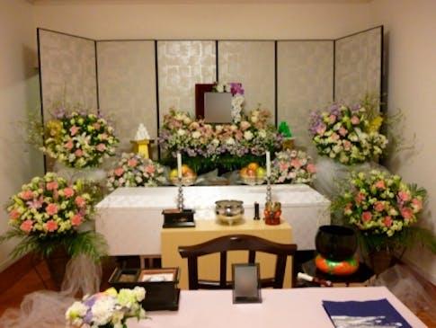 花セレモニーの市民葬儀例