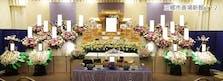 三郷市斎場の花祭壇例