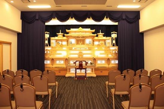 一般葬の白木祭壇